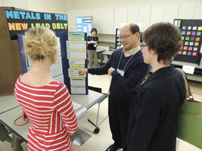 Academy of Science - St. Louis Science Fair Judging