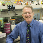 Jeff Gordon in his Lab