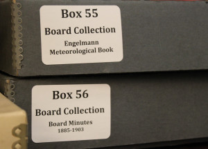board of directors boxes